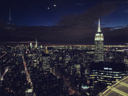 empire state building night