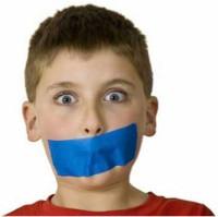 Taping Mouth Shut