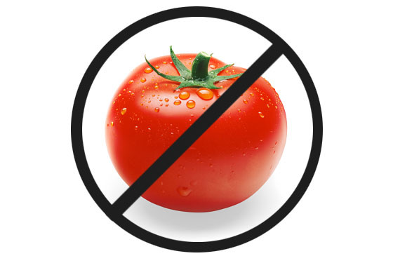 avoid tomatoes