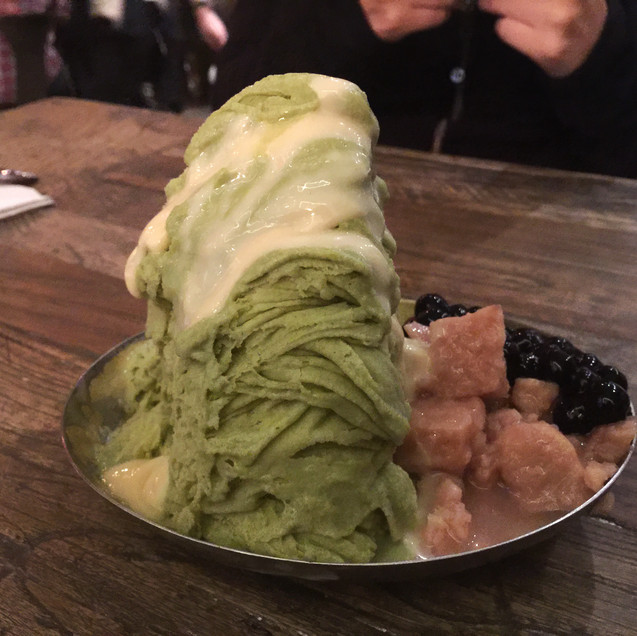 Shaved Ice at Grace Street