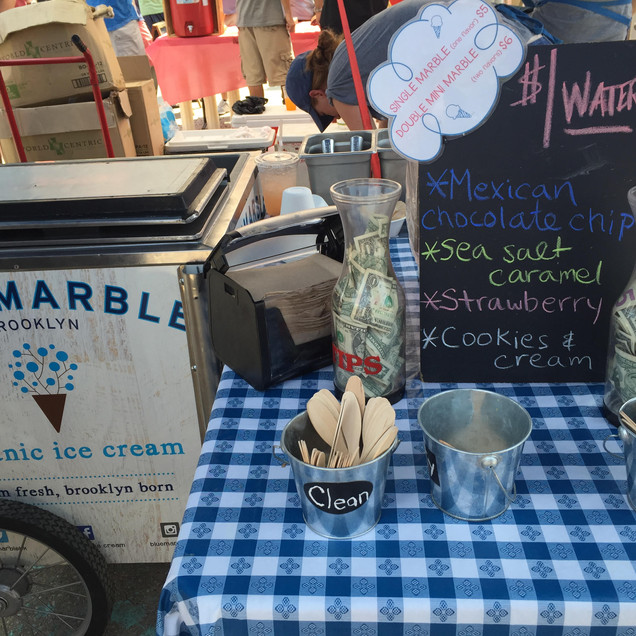 Blue Marble Soft Serve!