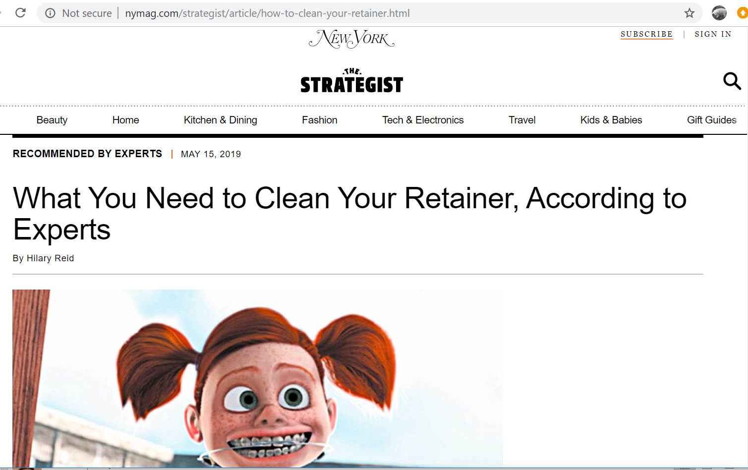 How to Clean Retainer