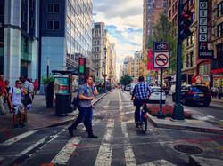 midtown crosswalk