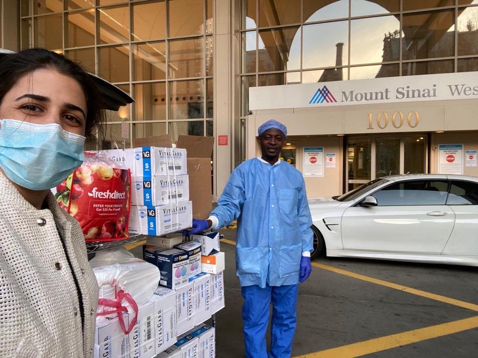 PPE Donations Mt. Sinai West