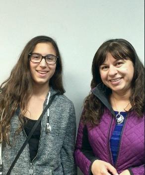Allison and Giovanna