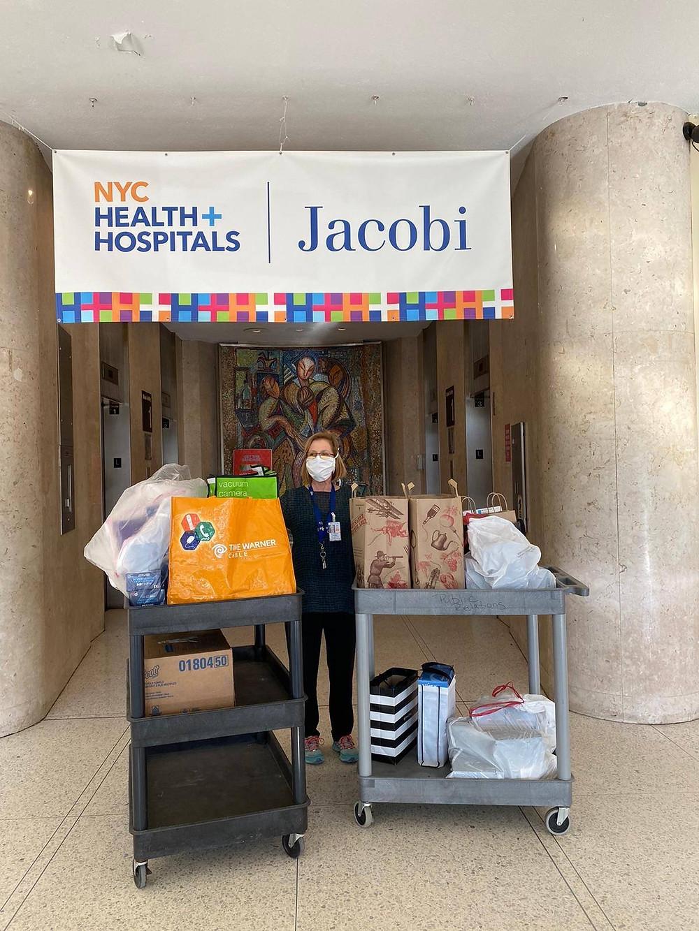 PPE Donations Jacobi Hospital