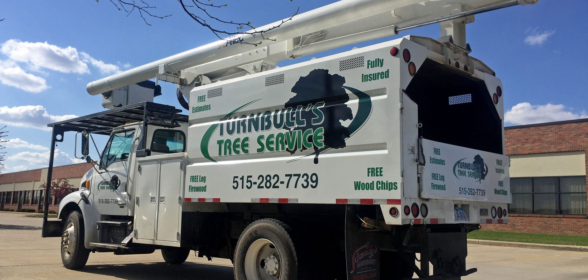 Turnbull Tree Service Truck