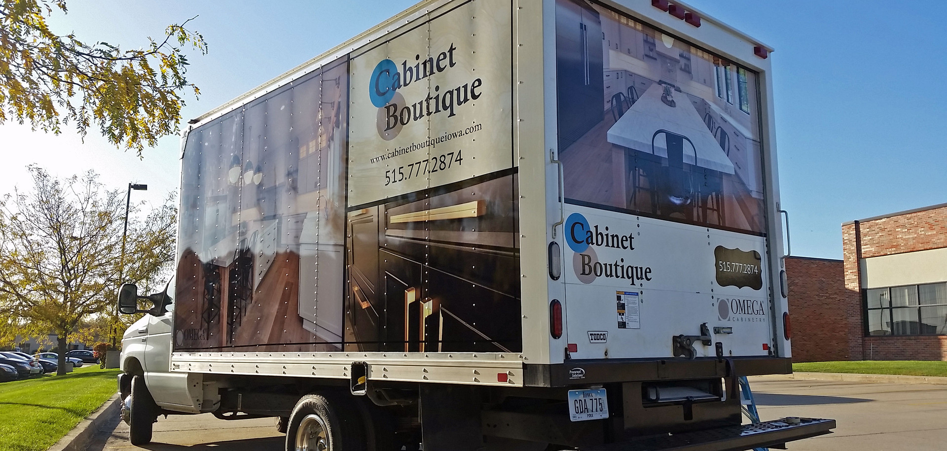 Cabinet Boutique Box Truck
