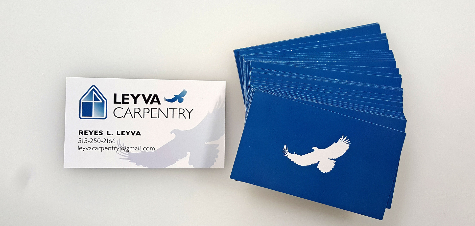Leyva Carpentry Logo & Business Design &
