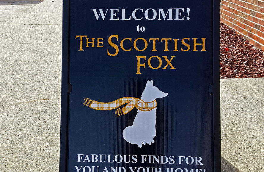 The Scottish Fox Logo Design & Print
