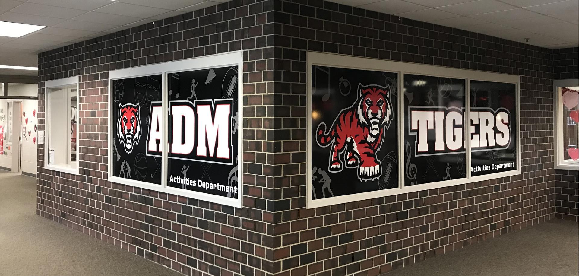 ADM Interior Window Graphics