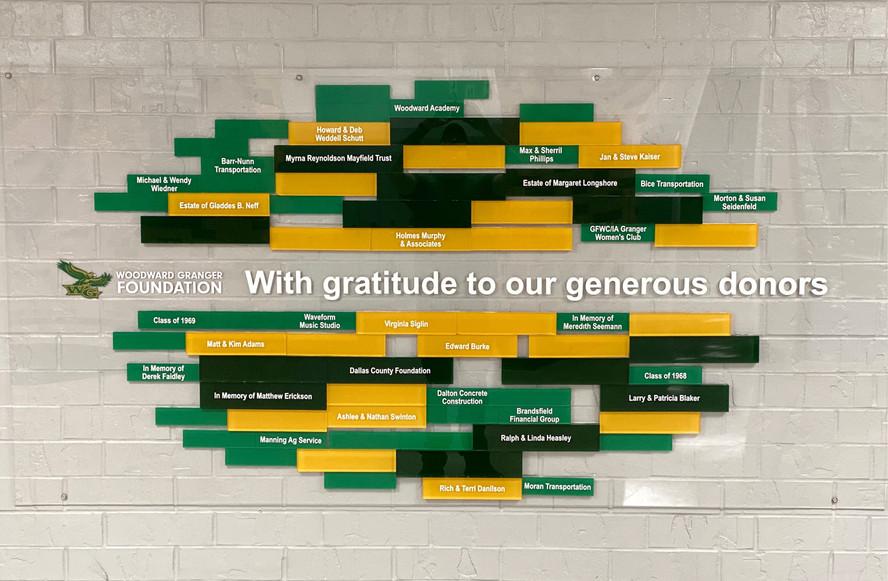 WG Donor Wall
