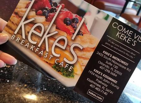 Keke's Breakfast Cafe 📍Orlando, FL