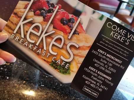 Keke's Breakfast Cafe 📍Orlando, FL