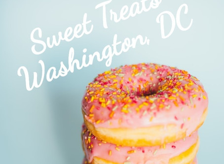 Sweet Treats: Washington, DC