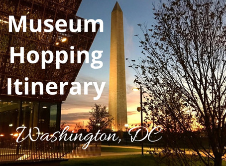 Free Museum Hopping Itinerary 📍 Washington, DC