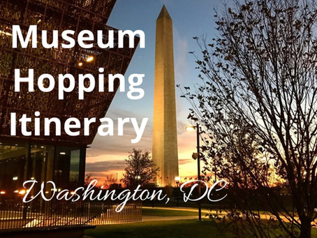 Free Museum Hopping Itinerary 📍 Washington, DC
