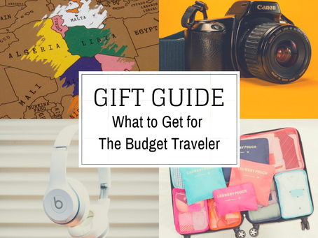 15 Savvy Gift Ideas for The Budget Traveler