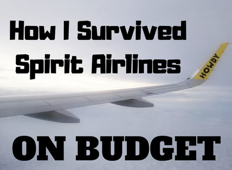 How I Survived Spirit Airlines