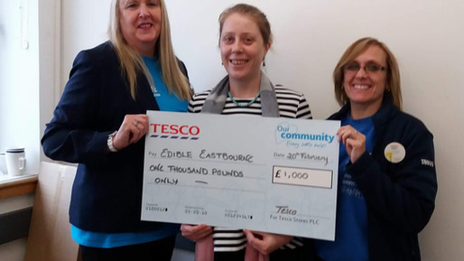 Incredible Community Allotment bags £1000 funding from Tesco