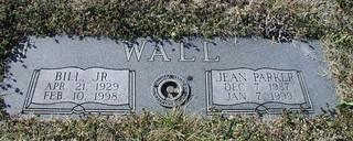 Wall Double Granite Marker