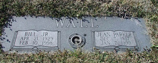 Wall Double Granite Marker
