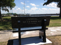Parker Bench Installed
