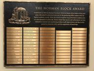 Norman Block Award
