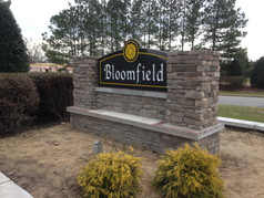 Bloomfield Sign