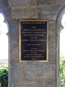 Plaque in Archway
