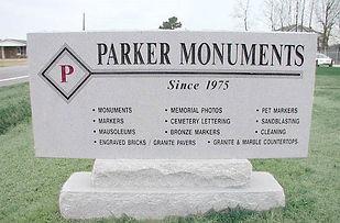Parker Monuments sign.jpg