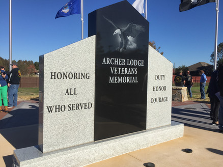 Archer Lodge Veterans Memorial