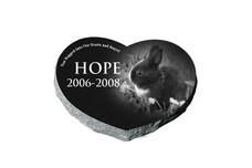 Black Pet Heart Hope