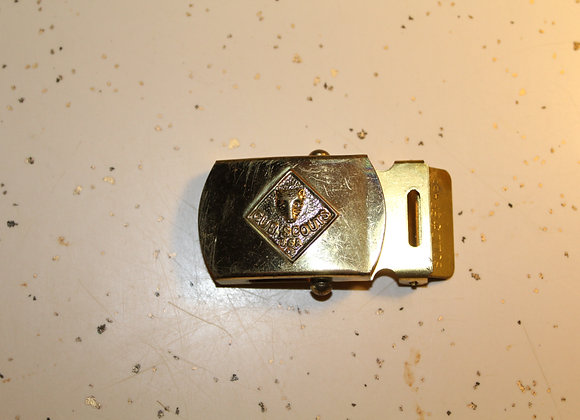 Vintage Cub Scouts buckles-solid brass