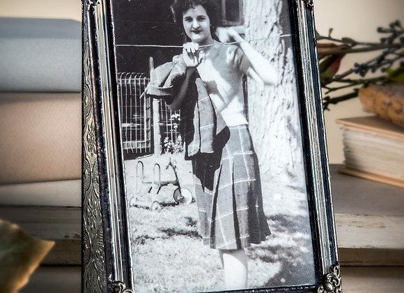 4x6 Vertical Frame-Flute and Vintage #360-46V