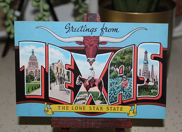Vintage Fort Worth Post Card