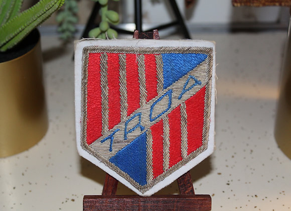Retired officer patch/pen