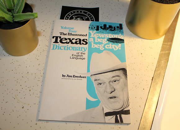 Vintage- The Illustrated Texas Dictionary of the English Language