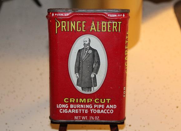 1963-1964 Vintage Prince Albert Tobacco Tin
