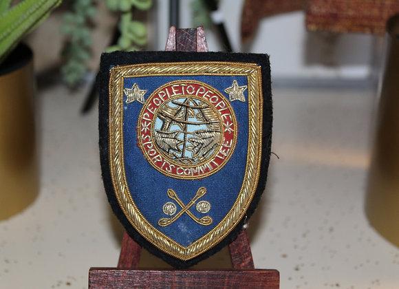 Vintage Gold Crest Ltd. Patch/Pen
