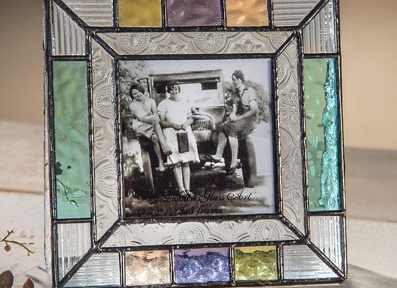 3x3 Frame-English Muffle-Pastel Multi Colors #372-33
