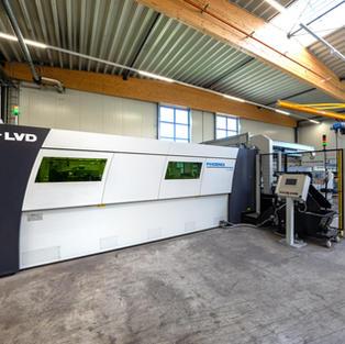 Laseranlage mit Automatisierung LVD