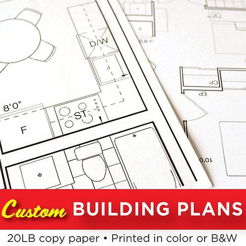 Blueprint / Engineering / Contractor Plans