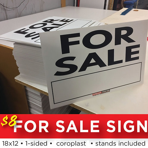 For Sale Sign!