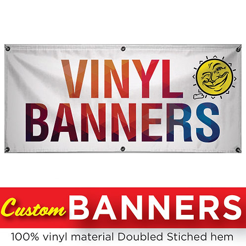 1-Foot Banners