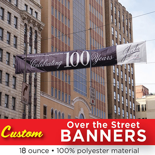 Over The Street Banners