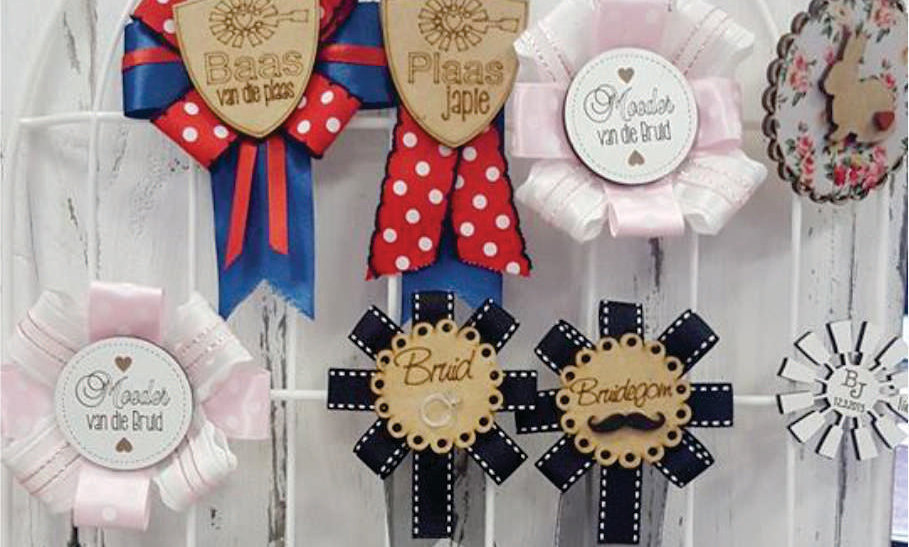 Badges with Ribbon
