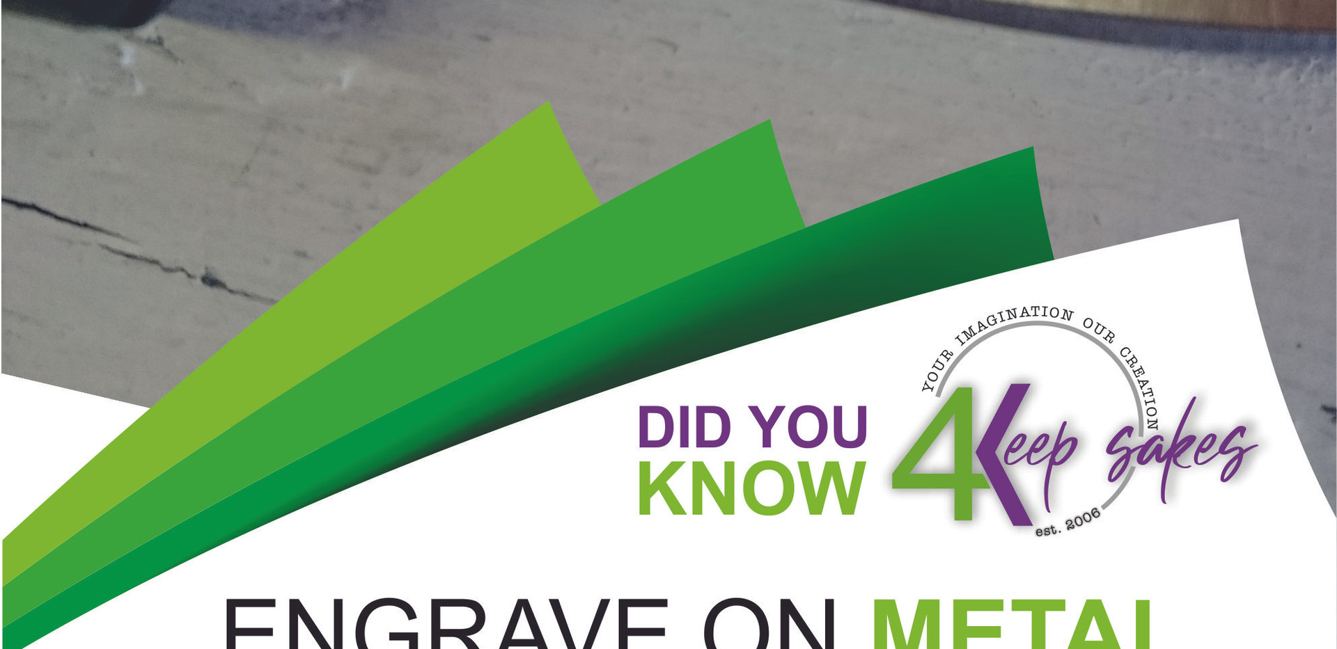 Did you know 4keepsake engrave on knives