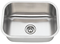 Stainless Steel Undermount Medium Single Bowl Sink