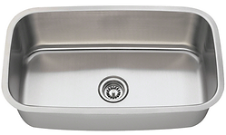 Stainless Steel Undermount Large Single Bowl Sink